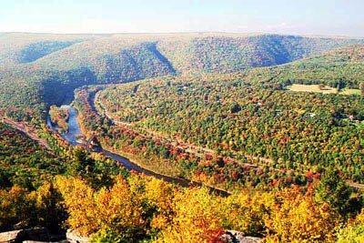 Mt Pisgah in the fall